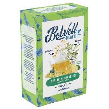 Ceai din flori de tei 50 gr BEWELL HEALTH
