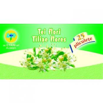 Ceai din flori de tei 25 pl CYANI