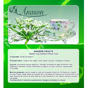 Ceai din fructe de anason 50 gr CYANI