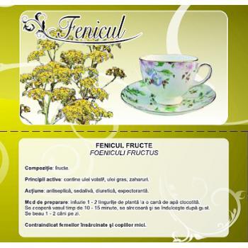 Ceai din fructe de fenicul 50 gr CYANI