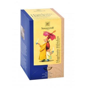 Ceai din fructe de macese si hibiscus 18 pl SONNENTOR