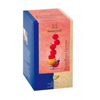 Ceai din fructe de merisoare (afine rosii) 18 pl SONNENTOR