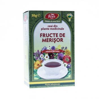 Ceai din fructe de merisor 30 gr FARES