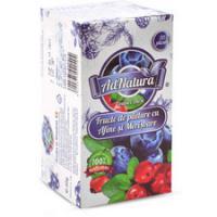 Ceai din fructe de padure cu afine & merisoare