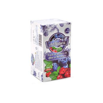Ceai din fructe de padure cu afine & merisoare 20 pl ADNATURA