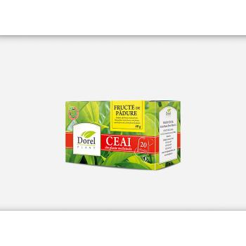 Ceai din fructe de padure 20 pl DOREL PLANT