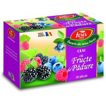 Ceai din fructe de padure 20 pl FARES