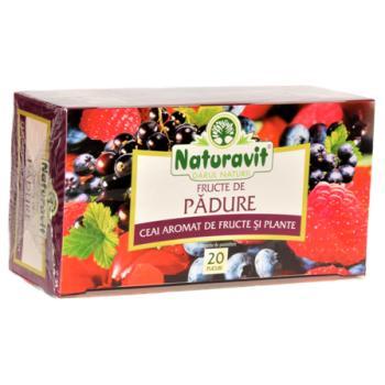 Ceai din fructe de padure 20 pl NATURAVIT