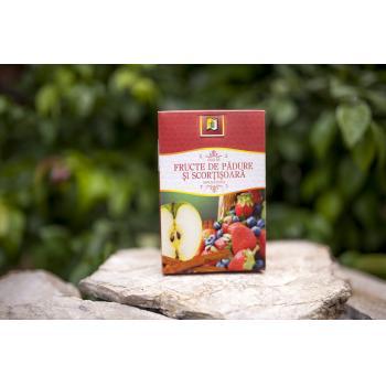 Ceai din fructe de padure si scortisoara 75 gr STEF MAR