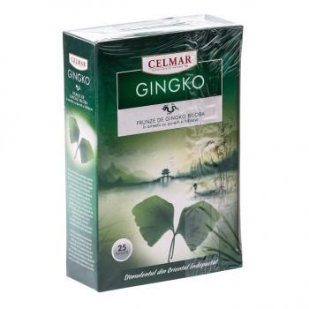 Ceai din frunze de ginkgo biloba 25 pl CELMAR