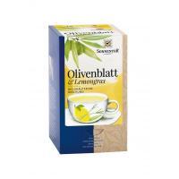 Ceai din frunze de maslin &lemongrass