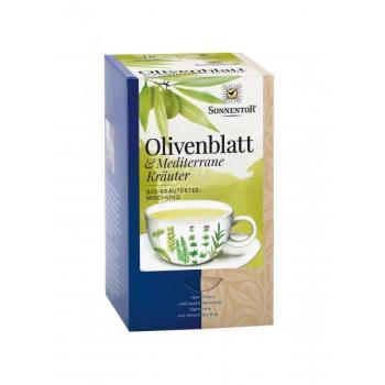 Ceai din frunze de maslin &plante mediteraneene 18 pl SONNENTOR