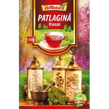 Ceai din frunze de patlagina 50 gr ADNATURA