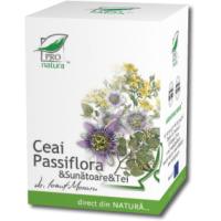 Ceai din passiflora & sunatoare & tei