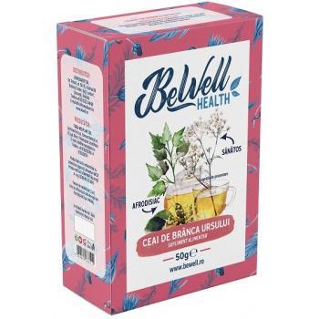 Ceai din plante medicinale branca ursului 50 gr BEWELL HEALTH
