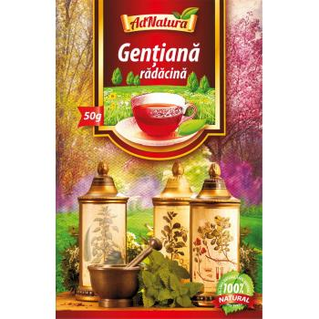 Ceai din radacina de gentiana 50 gr ADNATURA