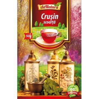 Ceai din scoarta de crusin 50 gr ADNATURA