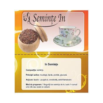 Ceai din seminte de in 100 gr CYANI