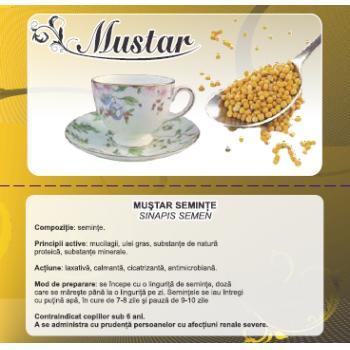 Ceai din seminte de mustar 50 gr CYANI