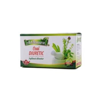 Ceai Diuretic 20 pl ADNATURA