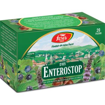 Ceai enterostop 20 pl FARES