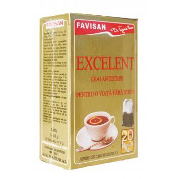 Ceai excelent antistres d005 20 pl FAVISAN
