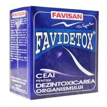 Ceai favidetox d019 50 gr FAVISAN