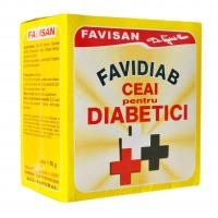 Favidiab  ceai pentru diabetici d016