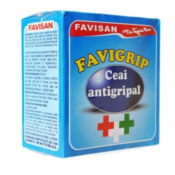 Ceai favigrip d017 50 gr FAVISAN