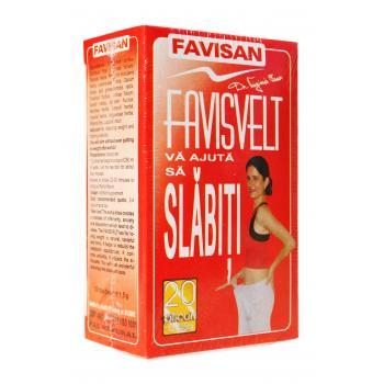 Ceai favisvelt d006 20 pl FAVISAN