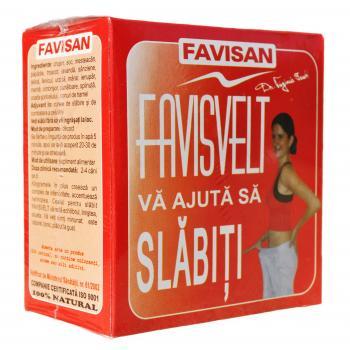 Ceai favisvelt d020 50 gr FAVISAN