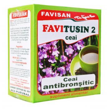 Ceai favitusin 2 d027 50 gr FAVISAN