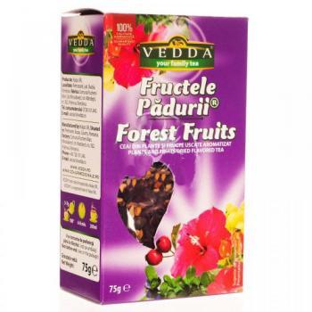 Ceai fructele padurii  75 gr RU BIO