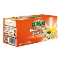 Ceai ghimbir cu lamaie 20 dz/2.25 gr