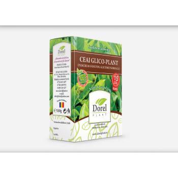 Ceai glico-plant (pancreas sanatos, glicemie normala) 150 gr DOREL PLANT