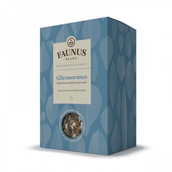 Ceai gliconormus 90 gr FAUNUS PLANT