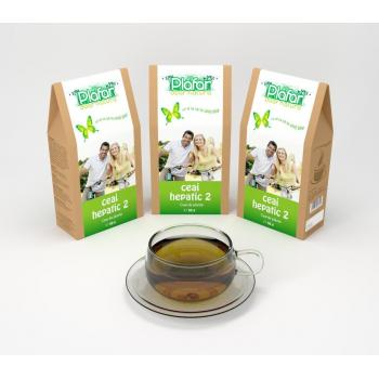 Ceai hepatic 2 50 gr PLAFAR