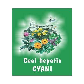 Ceai hepatic 70 gr CYANI