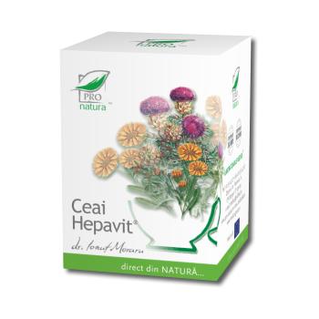 Ceai hepavit 20 pl PRO NATURA
