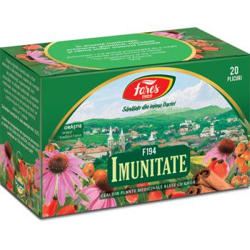Ceai medicinal imunitate  20 pl FARES
