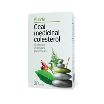 Ceai medicinal colesterol 20 pl ALEVIA