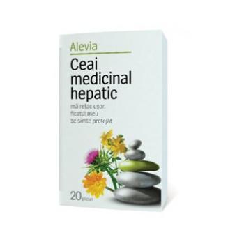 Ceai medicinal hepatic 20 pl ALEVIA