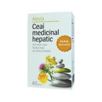 Ceai medicinal hepatic pachet economic 40 pl ALEVIA