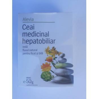 Ceai medicinal hepatobiliar 50 gr ALEVIA