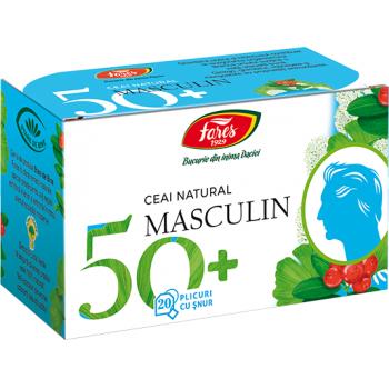 Ceai natura masculin 50 + 20 pl FARES
