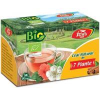 Ceai natural din 7 plante bio