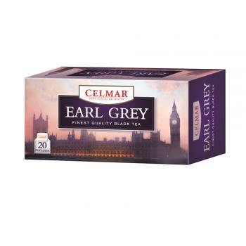 Ceai negru earl grey 20 pl CELMAR