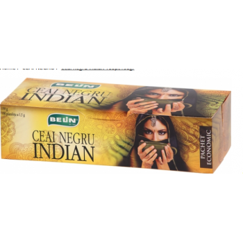 Ceai negru indian 100 pl BELIN