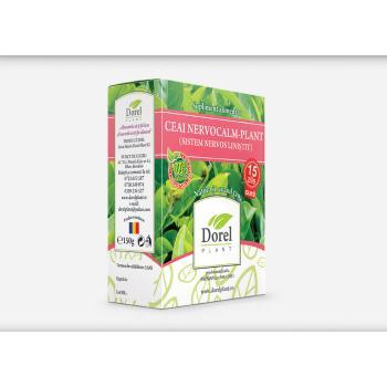 Ceai nervocalm-plant (sistem nervos linistit) 150 gr DOREL PLANT