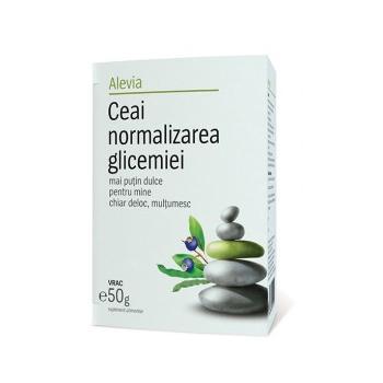 Ceai normalizarea glicemiei  50 gr ALEVIA